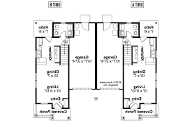 multifamily house plans duplex plan rothbury 60 016 1st floor plan multifamily homes