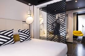 hotel ekta sixties style inspired boutique hotel rue galilée
