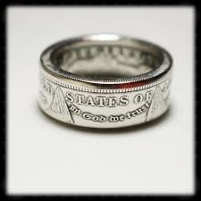 silver dollar city halloween amazon com handmade us morgan silver dollar coin ring handmade