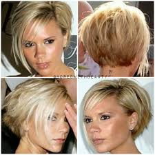 bob hairstyles that are shorter in the front best 25 beckham hairstyles ideas on