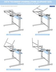 Engineering Drafting Table by Drawing Stand Drafting Table Elephant Size Dst E Drawing Stand