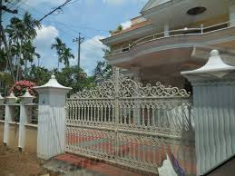 Kerala Home Gates Design Colour by Difference Type Of House Gate And Gallery Pictures Kerala Designs
