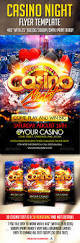 casino night flyer template casino night upcoming events and