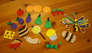 make felt boards and story pieces to retell your favorite