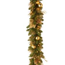 the aisle decorative pre lit elegance garland reviews