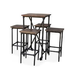 Rustic Bar Table Bar Table Rectangular