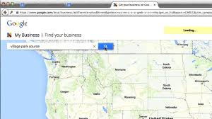 Goo Map How To Get Your Business On Google Maps 2014 Youtube