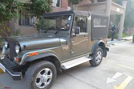 modified open thar the intrepid explorer iii rocky beige mahindra thar team bhp