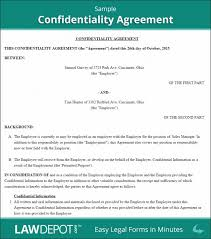 non disclosure agreement template word agreement for