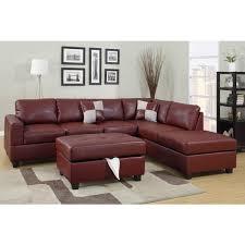 Bonded Leather Sofa Black Lola Bonded Leather Sofa Bed Centerfieldbar Com