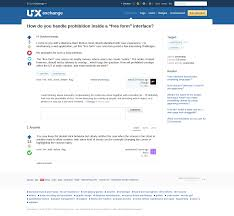 Table Ux Designing Ux Exchange The Usability Post