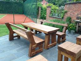 Designer Wooden Garden Benches by Oak Furniture Knutsford Wooden Garden Furniture Cheshire