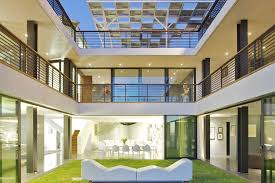 three story houses exterior design amazing courtyard design ideas for three story