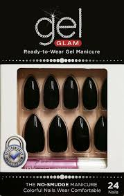 kiss gel fantasy glue on 24 nails kit long kgn58 ebay