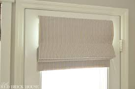 Instructions For Making A Roman Blind How To Make A Roman Shade Little Red Brick House