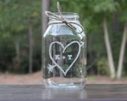 Mason Jar Vases Wedding Quart Mason Jars Etsy
