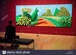 Ausstellungsk Hen Abverkauf David Hockney Stockfotos U0026 David Hockney Bilder Alamy
