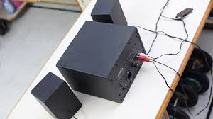 Small Desk Speakers Swans M10 2 1 Speakers Review Techreflex Net