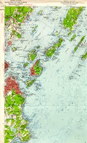 Map Of Portland Me by Casco Bay Me Quadrangle