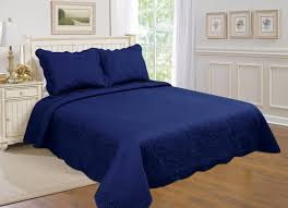 Navy Blue Coverlet Queen Best Blue Quilts And Coverlets U2013 Ease Bedding With Style