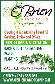 O Brien Landscaping by O Brien Trevor O Brien Landscaping Limerick County Limerick