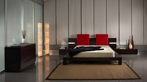 Japanese Style Bedroom by Modern Bedroom Filled Trendy Low Japan Style Bed Frame With Red