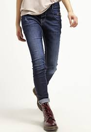 mos mosh bukser damer mos mosh nelly relaxed fit blue denim