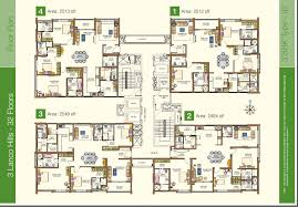 floor plan lanco hills hyderabad residential property buy