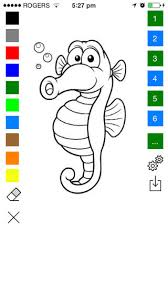 underwater coloring book kids color draw mermaid sea