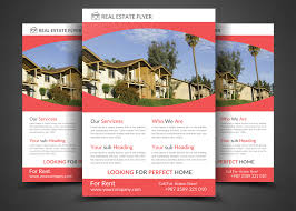 Real Estate Brochure Template by Real Estate Flyer Template By Dil G Design Bundles