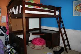 metal full size loft bed with desk u2014 bitdigest design full size
