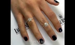 2 carat cushion cut engagement ring 2 carat cushion cut diamonds comparison d and f color