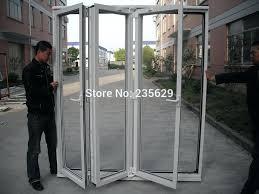 Folding Glass Patio Doors Prices by Glamorous Aluminum Bi Fold Doors Price Photos Best Inspiration