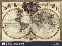 Paris World Map by 18th Century Map Of The World Published In Paris In 1720 This