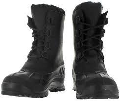 kamik alborg men u0027s cold weather snow boots duck toe waterproof ebay