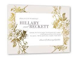 wedding paper eternal 5x7 wedding invitations shutterfly