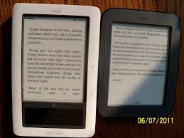 kindle books on nook color a kindle world blog nook touch screen contrast shots font sizes