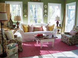 Ideas For Decorating A Sunroom Design Cottage Style Sunrooms Hgtv