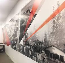 wall murals husky signs graphics wall
