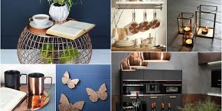 home interior accents metallic interior inspiration copper accents