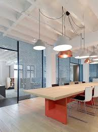 great simple lighting pendants and interesting use of materials in porous wall could use more
