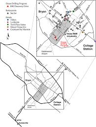 Tamu Parking Map Ocean Drilling Program Tamrf Administrative Services Travel