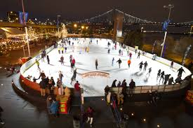 blue cross ice skating rink new years eve parties and fireworks
