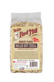 rolled barley flakes bob u0027s red mill natural foods