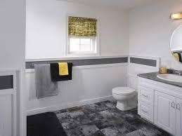 Wainscoting Bathroom Vanity Bathroom Interesting Design Ideas Using White Toilets And White