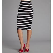 striped pencil skirt dress ala black white pencil skirt dress ala