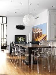 Black Dining Table White Chairs Best 10 Ghost Chairs Dining Ideas On Pinterest Ghost Chairs