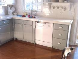 two toned cabinets beige varnished wood small kitchen island with