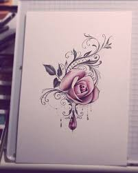 the 25 best rose tattoos on wrist ideas on pinterest rose