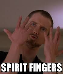 Spirit Fingers Meme - spirit fingers poster madm keep calm o matic